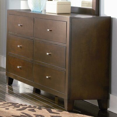Celina 6 Drawer Double Dresser