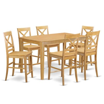 Smyrna 7 Piece Table Dining Set