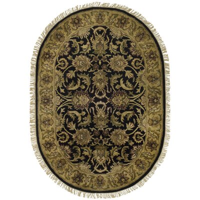 Bromley Area Rug Rug Size: Oval 46 x 66