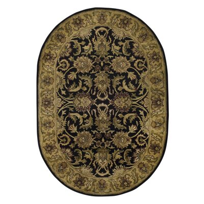 Bromley Area Rug Rug Size: Oval 76 x 96