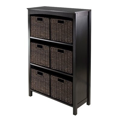 Martinsville 6 Drawers 3 Tier Storage Shelf