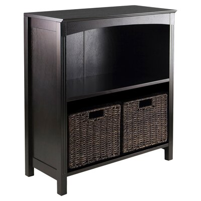Martinsville 2 Drawers 3 Tier Storage Shelf