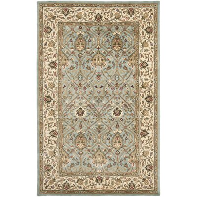 Fullwood Hand-Tufted Beige/Red Area Rug Rug Size: Rectangle 5 x 8