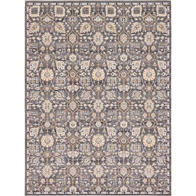 Fulmore Gray Area Rug Rug Size: 9 x 12