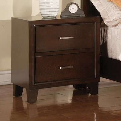 Carreras 2 Drawer Nightstand