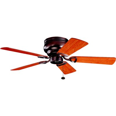 Cerro 42 5-Blade Ceiling Fan Finish: Oil Brushed Bronze with Cherry/Walnut Blades