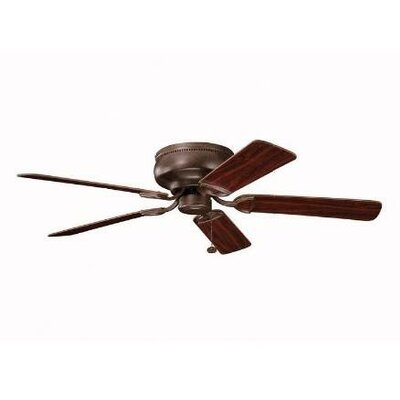 52 Cerro 5 Blade Ceiling Fan Finish: Oil Brushed Bronze with Cherry/Walnut Blades