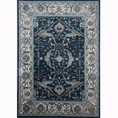 Gloria Blue Area Rug Rug Size: Runner 16 x 72