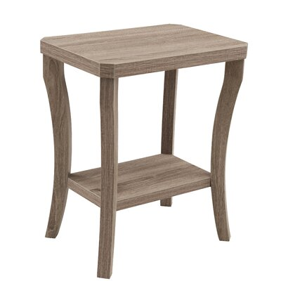 Simmons Casegoods Gabbard Chairside Table Finish: Aged Driftwood