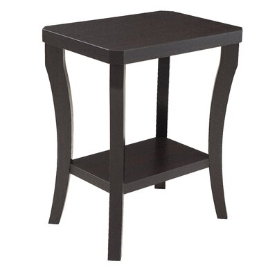 Simmons Casegoods Gabbard Chairside Table Finish: Merlot