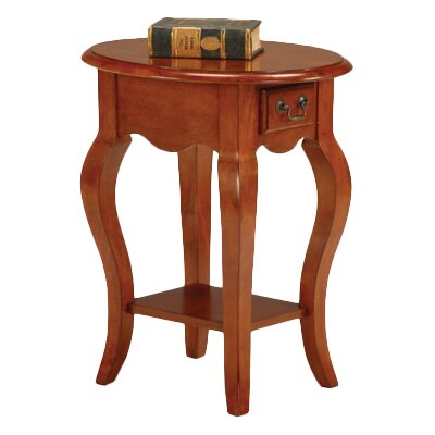 Apple Valley End Table Color: Brown Cherry