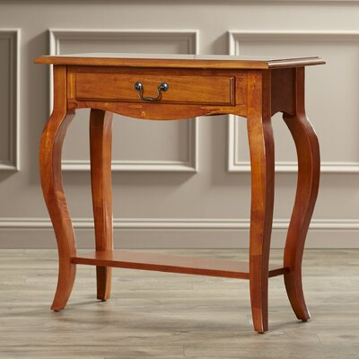 Apple Valley Console Table Finish: Brown Cherry