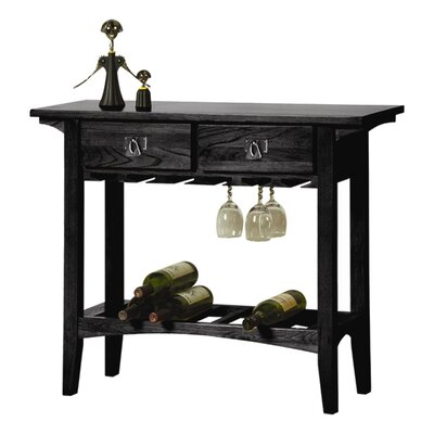 Apple Valley 10 Bottle Floor Wine Rack Finish: Slate
