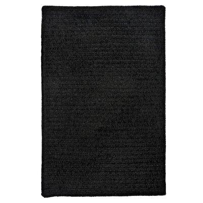 Gibbons Black Indoor/Outdoor Area Rug Rug Size: 5 x 8