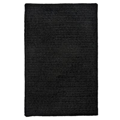 Gibbons Black Indoor/Outdoor Area Rug Rug Size: 2 x 4