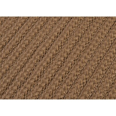 Gilmour Cashew Solid Indoor/Outdoor Area Ru Rug Size: 2 x 4