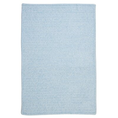 Gibbons Sky Blue Indoor/Outdoor Area Rug Rug Size: Rectangle 8 x 11