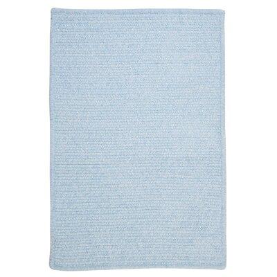 Gibbons Sky Blue Indoor/Outdoor Area Rug Rug Size: 4 x 6