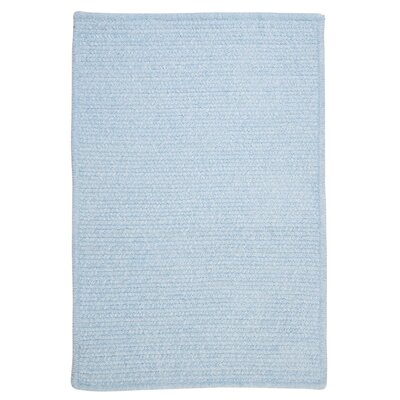 Gibbons Sky Blue Indoor/Outdoor Area Rug Rug Size: 8 x 11