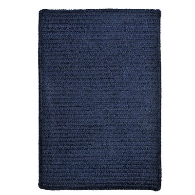 Gibbons Navy Indoor/Outdoor Area Rug Rug Size: 2 x 4