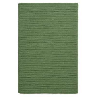 Gilmour Moss Green Solid Indoor/Outdoor Area Rug Rug Size: 3 x 5