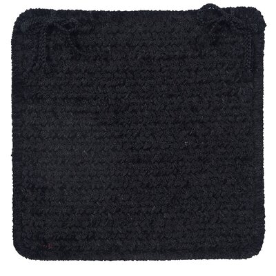 Gibbons Dining Chair Cushion Color: Black