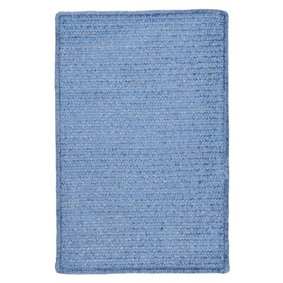 Gibbons Petal Blue Indoor/Outdoor Area Rug Rug Size: Rectangle 7 x 9