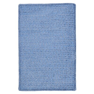 Gibbons Petal Blue Indoor/Outdoor Area Rug Rug Size: 2 x 3