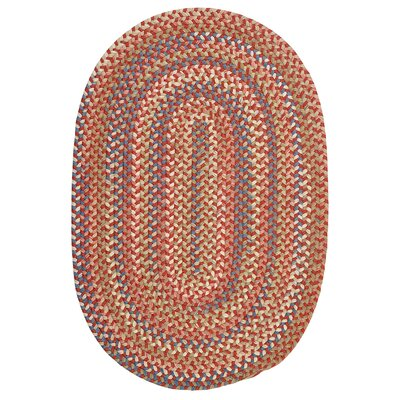 Gaylord Rust Area Rug Rug Size: Oval 4 x 6
