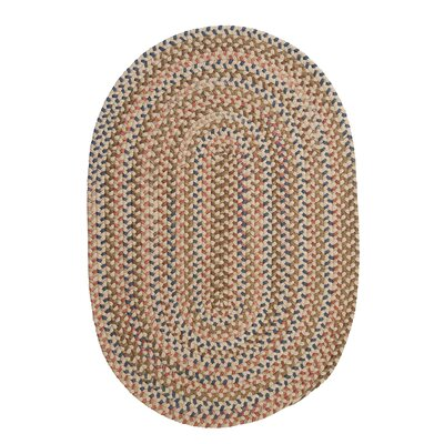 Kipton Natural Area Rug Rug Size: Oval 2 x 4