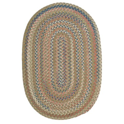 Gaylord Olive Area Rug Rug Size: Oval 4 x 6
