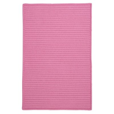 Glasgow Pink Indoor/Outdoor Area Rug Rug Size: 7 x 9