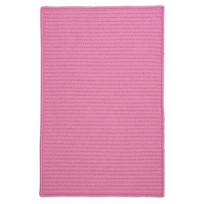 Glasgow Pink Indoor/Outdoor Area Rug Rug Size: 5 x 8