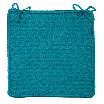 Chair Pad Color: Turquoise