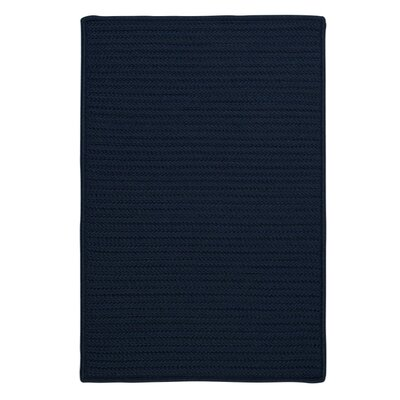 Glasgow Blue Indoor/Outdoor Area Rug Rug Size: 5 x 8