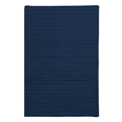 Glasgow Blue Indoor/Outdoor Area Rug Rug Size: Square 4