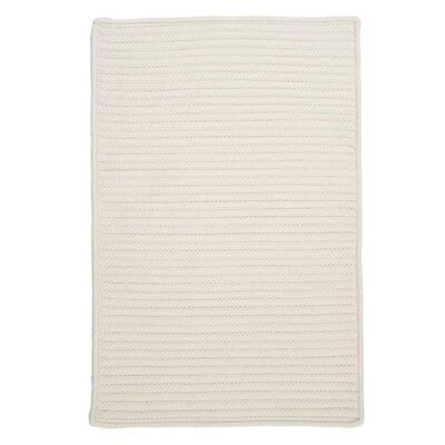 Glasgow White Indoor/Outdoor Area Rug Rug Size: 2 x 4