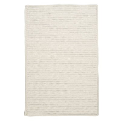 Glasgow White Indoor/Outdoor Area Rug Rug Size: 8 x 11