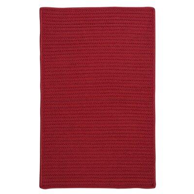 Glasgow Red Indoor/Outdoor Area Rug Rug Size: 8 x 11