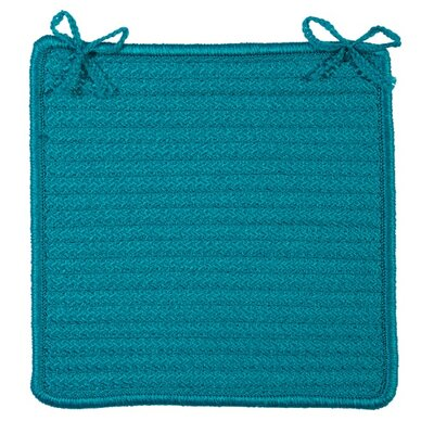 Chair Cushion Color: Turquoise