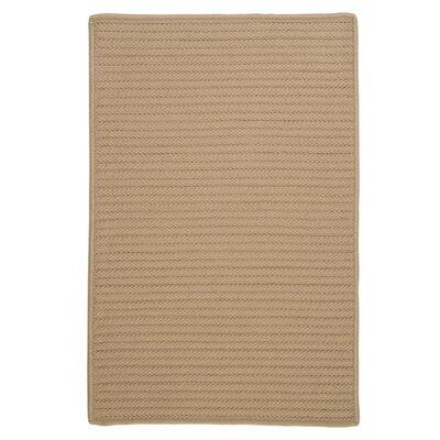Glasgow Cuban Sand Indoor/Outdoor Area Rug Rug Size: 8 x 11