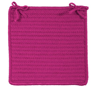 Chair Cushion Fabric: Magenta