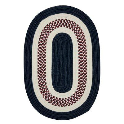Germain Blue Area Rug Rug Size: Oval 10 x 13