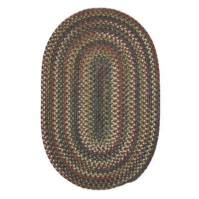 Kipton Gray Area Rug Rug Size: Oval 2 x 6