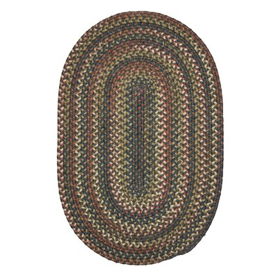 Gaylord Gray Area Rug Rug Size: Oval 7 x 9