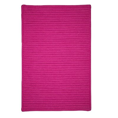 Glasgow Pink Indoor/Outdoor Area Rug Rug Size: 3 x 5