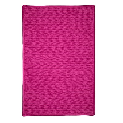 Glasgow Pink Indoor/Outdoor Area Rug Rug Size: Runner 2 x 6