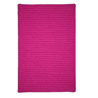 Glasgow Pink Indoor/Outdoor Area Rug Rug Size: Runner 2 x 6