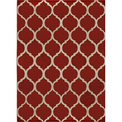 Gainer Red Area Rug
