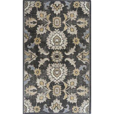 Gault Dark Gray Area Rug Rug Size: 210 x 47